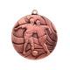 Bronzová Medaila MMC3650 Futbal