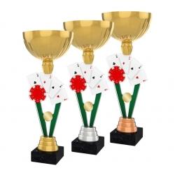 Pohár / Trofej ACUPGOLDM26 / GSB karty / poker