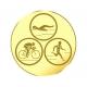 emblém A135 triatlon