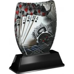 Trofej / plaketa ACE2018M28 karty