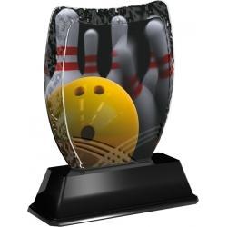 Trofej / plaketa ACE2018M30 bowling