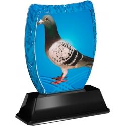 Trofej / plaketa ACE2018M35 holub