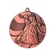 Bronzová Medaila MMC2850 Tanec