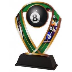 Trofej / figúrka ACRC1M7 biliard