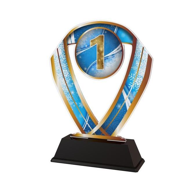 Trofej / figúrka ACRCSM15 zimné športy 123