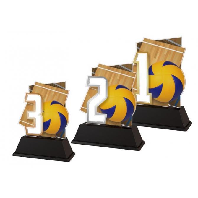 Trofej / figúrka NCUF1M27 volejbal / 123