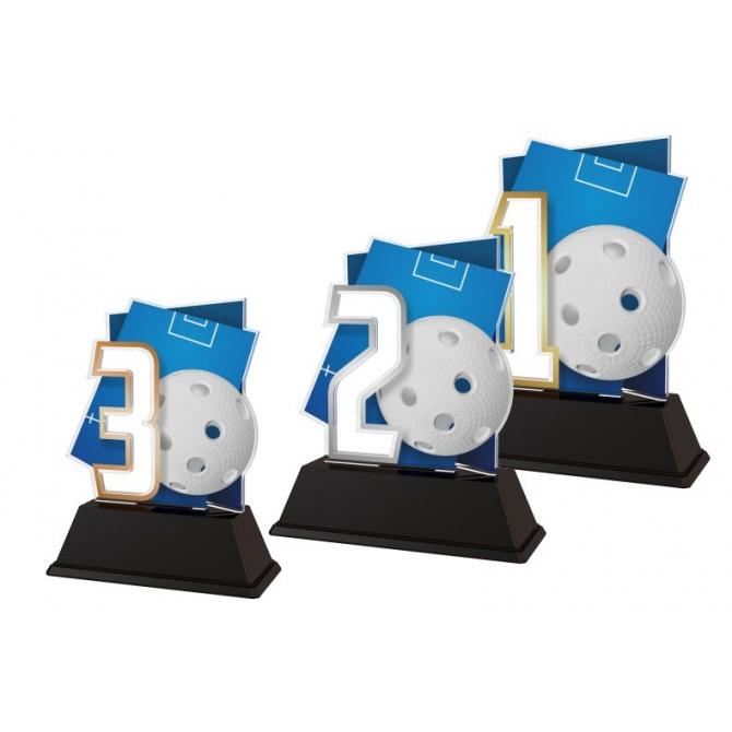 Trofej / figúrka NCUF1M8 floorball / 123