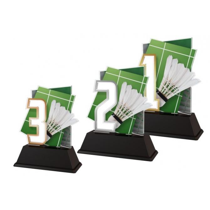 Trofej / figúrka NCUF1M2 badminton / 123