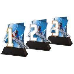 Trofej / figúrka NCUFS1M2 Lyžovanie / 123