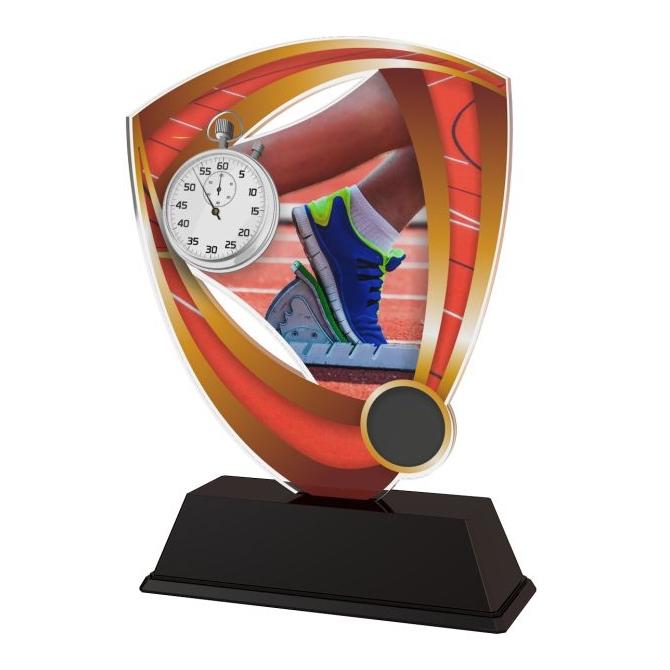 Trofej / plaketa CACUF001M10 atletika