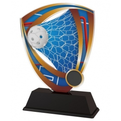 Trofej / plaketa CACUF001M12 floorball