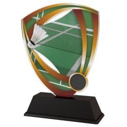 Trofej / plaketa CACUF001M2 badminton
