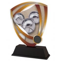 Trofej / plaketa CACUF001M21 petanque