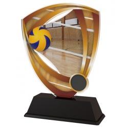 Trofej / plaketa CACUF001M8 volejbal