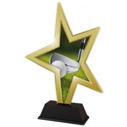 Trofej / figúrka STAR002M11 golf