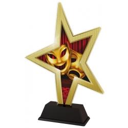 Trofej / figúrka STAR002M10 divadlo