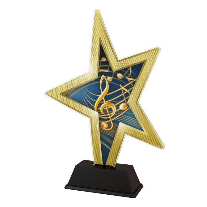 Trofej / figúrka STAR002M16 Hudba