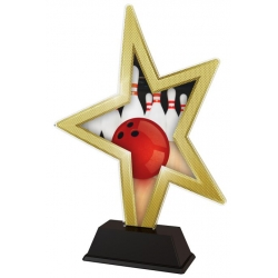 Trofej / figúrka STAR002M3 bowling