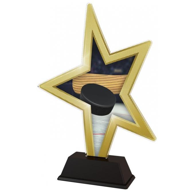 Trofej / figúrka STAR002M4 Hokej
