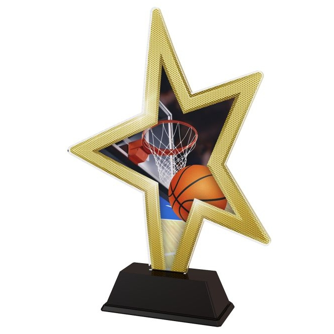 Trofej / figúrka STAR002M5 basketball