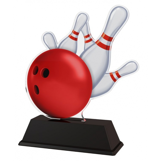 Trofej / figúrka FA200M18 bowling