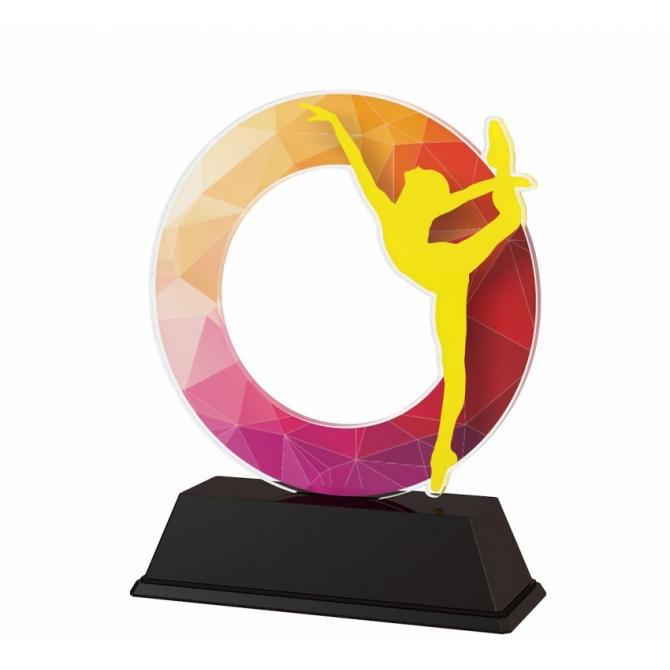 Trofej / figúrka ACLC2101M51 gymnastika