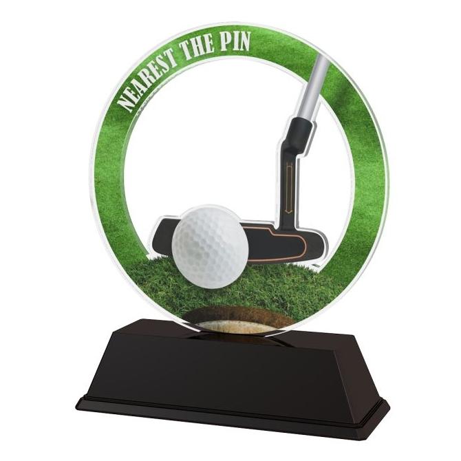 Trofej / figúrka CBCUF001M13 golf