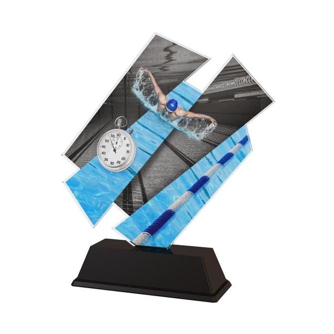 Trofej / figúrka ACZC001M26 plávanie