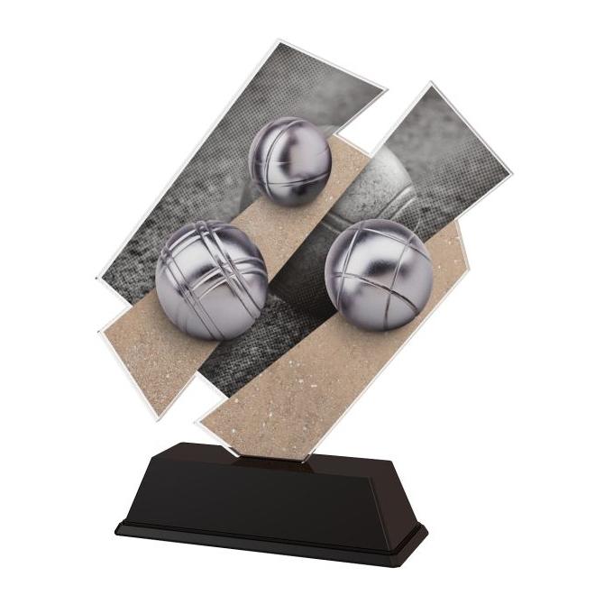 Trofej / figúrka ACZC001M35 petanque