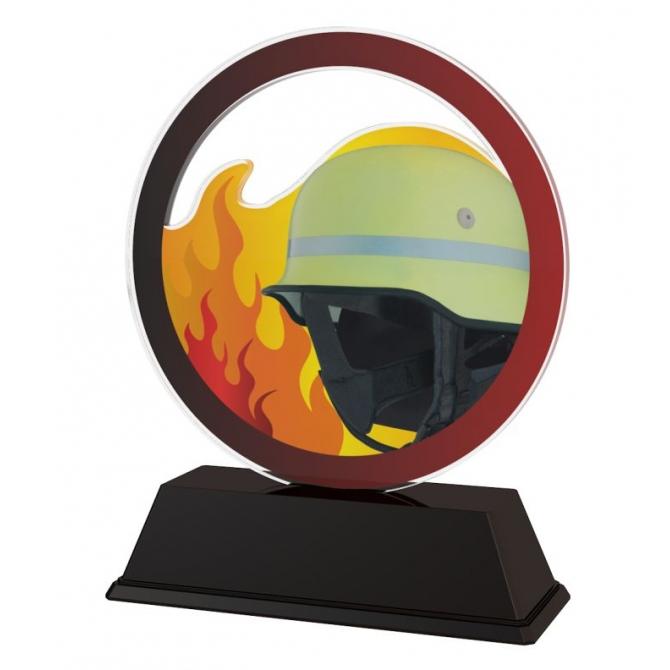 Trofej / figúrka AKE012018M39 hasiči