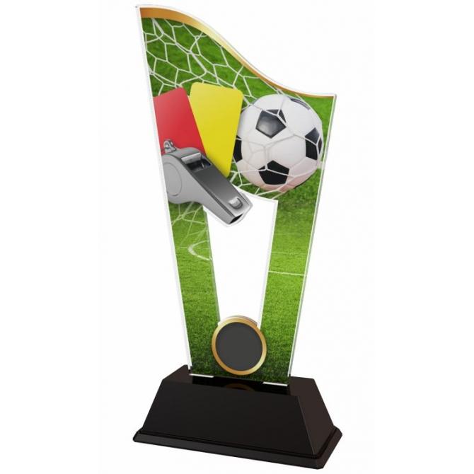 Trofej / plaketa CASM17 futbal