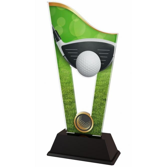 Trofej / plaketa CASM25 golf
