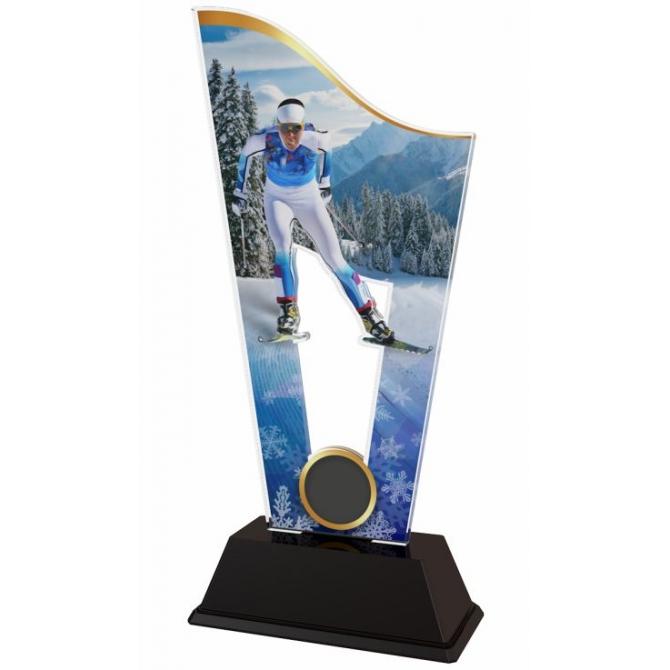 Trofej / plaketa CASM23 lyžovanie