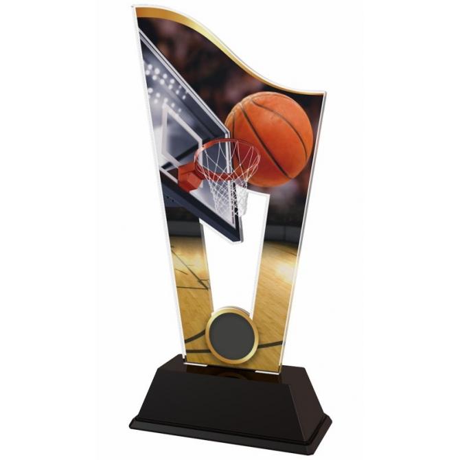 Trofej / plaketa CASM02 basketbal