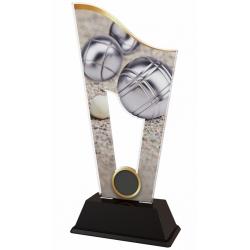 Trofej / plaketa CASM07 petanque