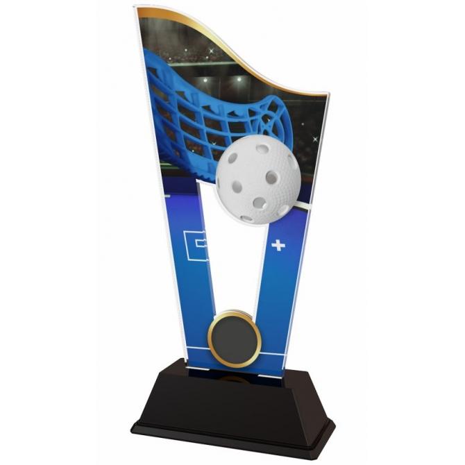 Trofej / plaketa CASM09 floorball