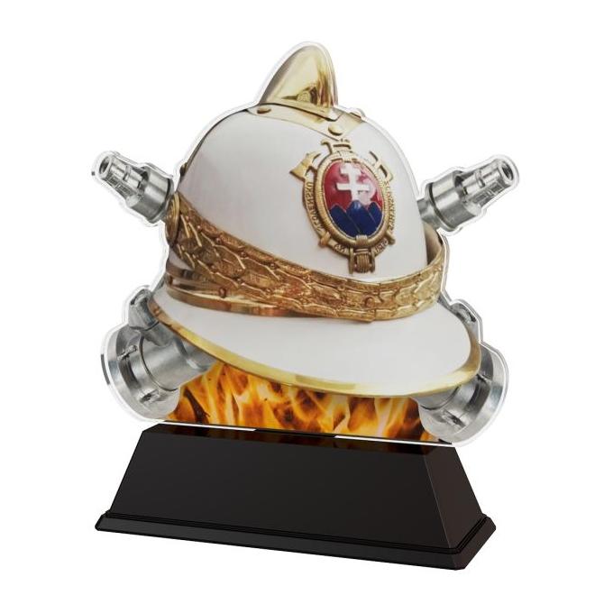 Trofej / figúrka FA210M32 hasiči