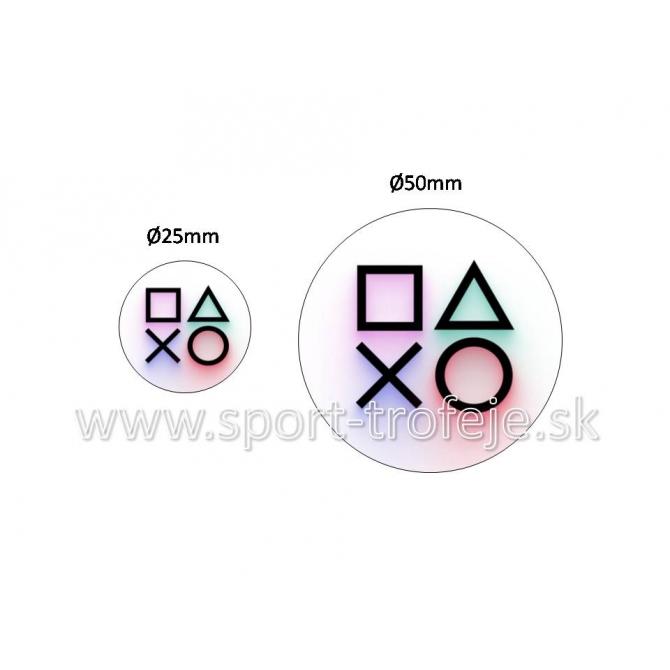 emblém EPGH4 gamer / hráč