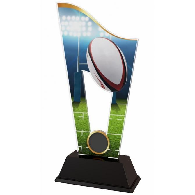 Trofej / plaketa CASM11 americký futbal / rugby