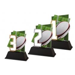 Trofej / figúrka NCUF1M18 americký futbal / rugby