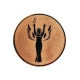 bronzový emblém A41 Viktória
