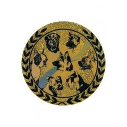 emblém AGM157 Kynológia holografický
