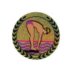 emblém AGM134 Plávanie holografický