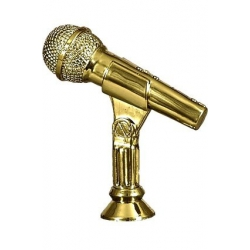 Plastová figúrka F174/G Mikrofón