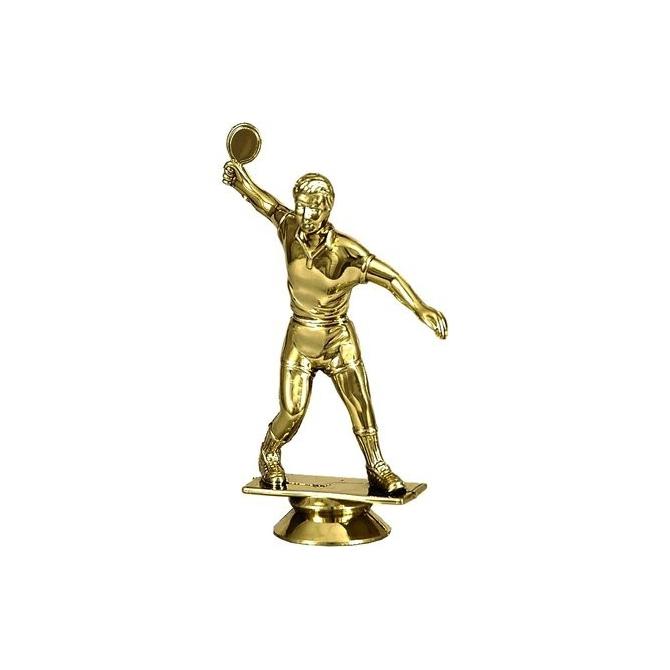 Plastová figúrka F18/G-Zlatá Stolný tenis