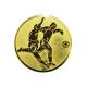 emblém A2 futbal zlato