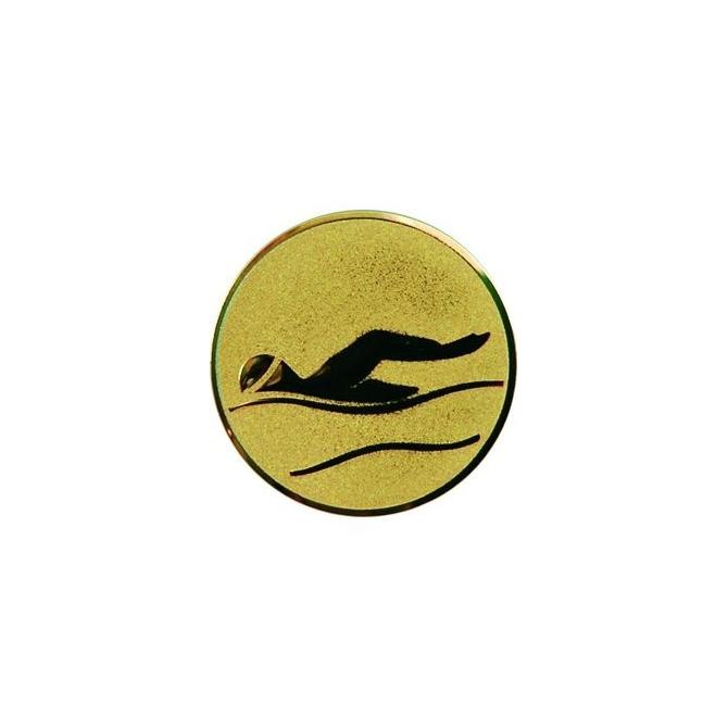 emblém A9/G-Zlatý Plávanie