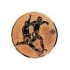 emblém A2 futbal bronz