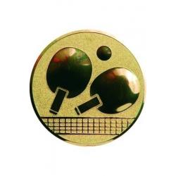 emblém A46/G-Zlatý Stolný tenis