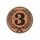 emblém 3 bronzový univerzálny